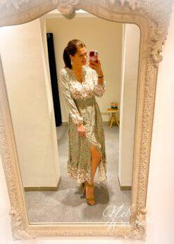 Maxi dress Bohemian print