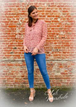 Skinny jeans-high waist-stretch -basic model