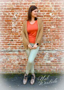 Basic jeans - high waist