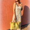 Lange jurk met print - summer dress
