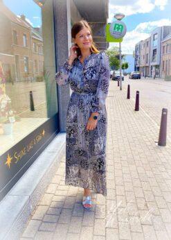 Lange jurk - print