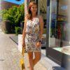Korte jurk - fijne bandjes