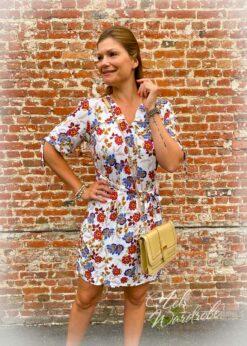 Korte jurk -los model