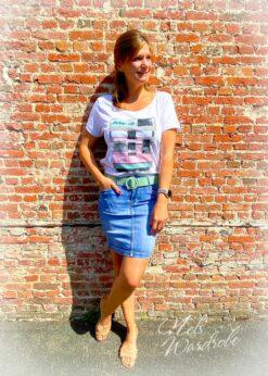rok - jeansrok - washing look