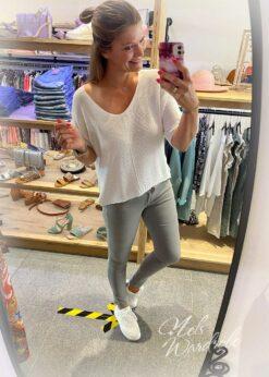 Lichtgrijs - skinny jeans - basic model