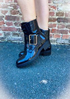 croco biker boots