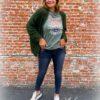 Grijze jeans - high waist