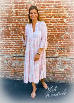 Lange jurk - los model