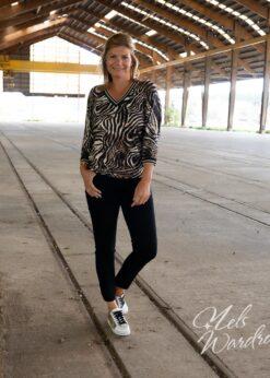 Zwarte jeans - high waist