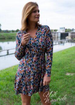 Korte jurk - chemise model