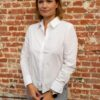 basic witte blouse
