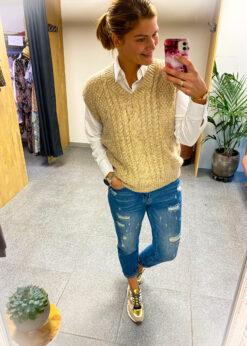 Debardeur - mouwloze trui