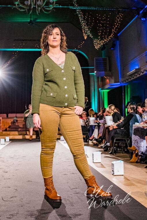 Bruine jeans - high waist