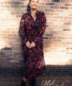 Maxi dress - velvet purple