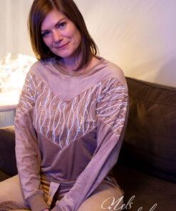 beige homewear