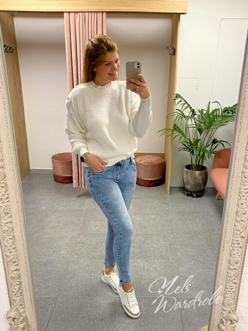 skinny jeans - lichtblauw - stretch
